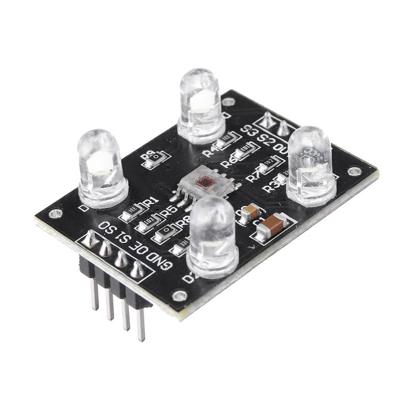 TCS3200 Color Sensor Color Recognition Module For Arduino DIY Module DC 3-5V Input Adapter