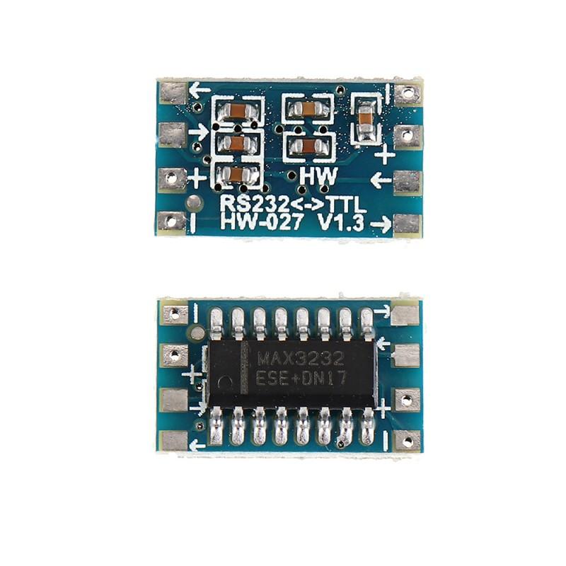 30pcs Mini RS232 to TTL Converter Module Board Adapter MAX3232 120kbps 3-5V Serial Port