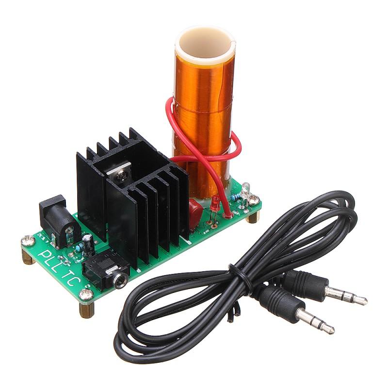 3pcs Assembled Music Tesla Coil Mini Plasma Horn Speaker 15W 2A DC 15-24V Module